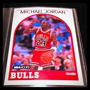 1989 NBA HOOPS MICHAEL JORDAN #200 BULLS SHARP!